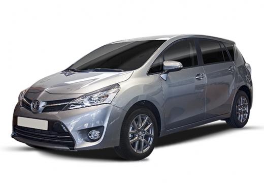 Toyota Verso kombi mpv silver grey