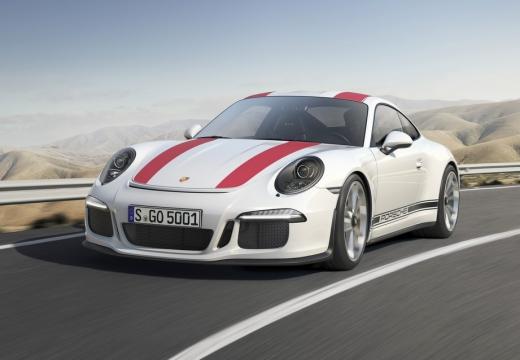 PORSCHE 911 991 I coupe biały przedni lewy