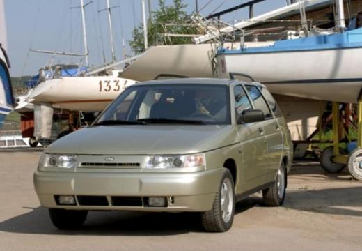 LADA 111 kombi silver grey przedni lewy