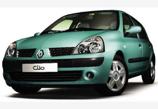 RENAULT Clio II III hatchback zielony przedni lewy