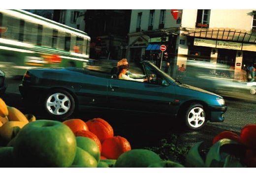 PEUGEOT 306 Cabrio I kabriolet boczny prawy