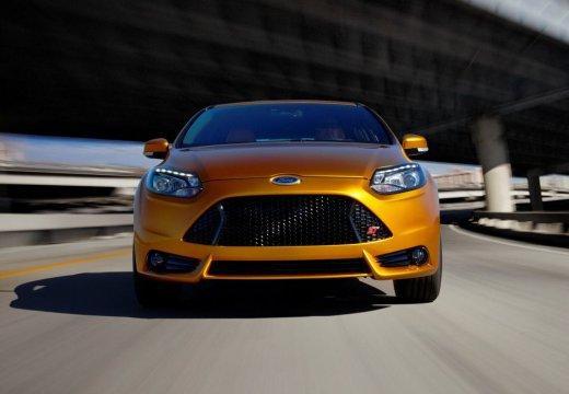 FORD Focus VI hatchback żółty przedni