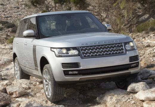 LAND ROVER Range Rover VI kombi silver grey przedni prawy