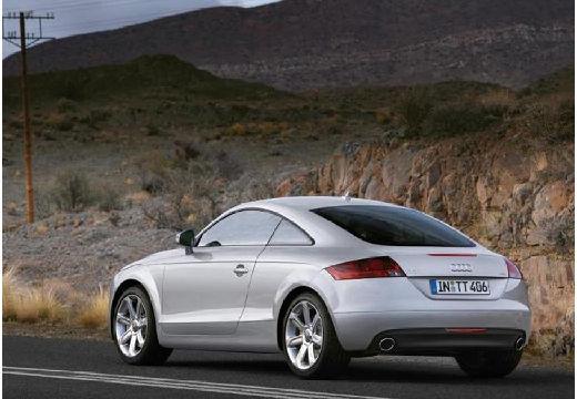 AUDI TT I coupe silver grey tylny lewy