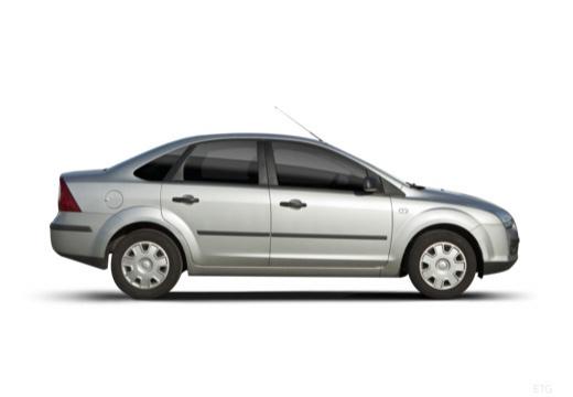 FORD Focus III sedan silver grey boczny prawy