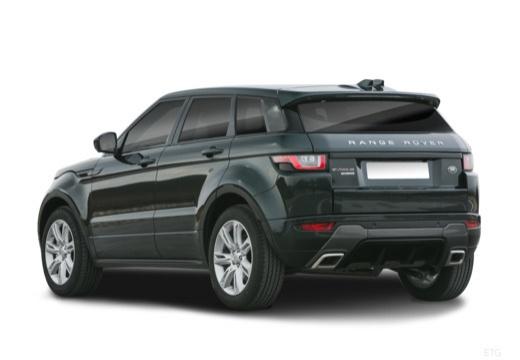 LAND ROVER Range Rover Evoque II kombi czarny tylny lewy