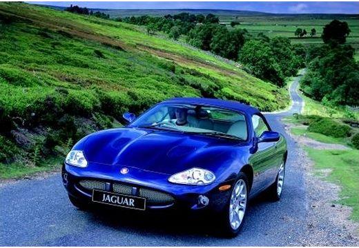JAGUAR XK8 kabriolet niebieski jasny przedni lewy