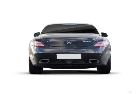 MERCEDES-BENZ SLS coupe czarny tylny