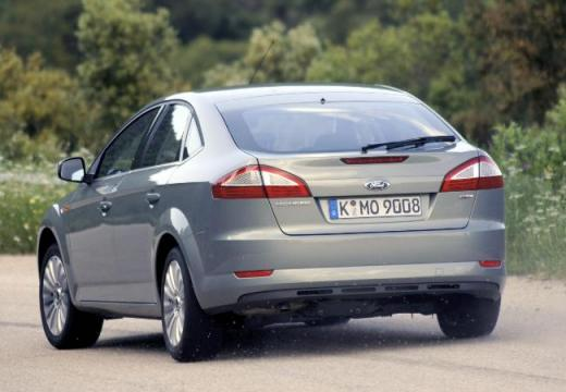 FORD Mondeo VI hatchback silver grey tylny lewy