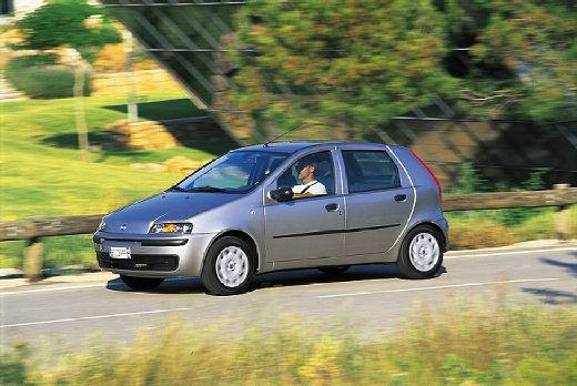 FIAT Punto II I hatchback silver grey przedni lewy