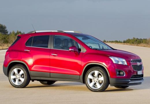 CHEVROLET Trax hatchback czerwony jasny przedni prawy