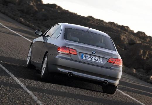 BMW Seria 3 E92 I coupe silver grey tylny lewy