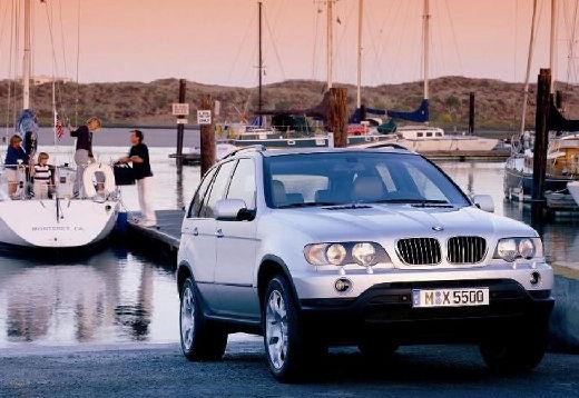 BMW X5 X 5 E53 I kombi silver grey przedni prawy