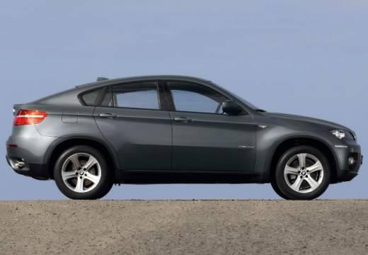 BMW X6 X 6 E71 hatchback szary ciemny boczny prawy