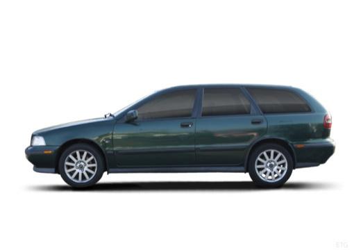 VOLVO V40 III kombi zielony boczny lewy