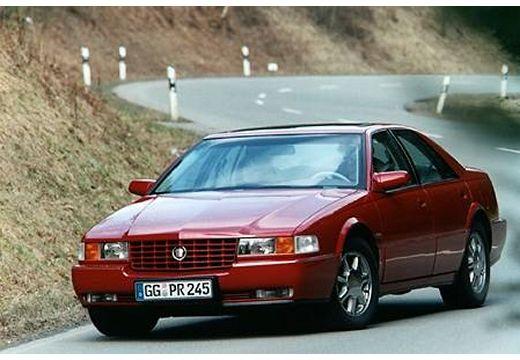CADILLAC Seville sedan czerwony jasny przedni lewy