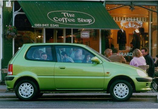 HONDA Logo hatchback zielony boczny prawy