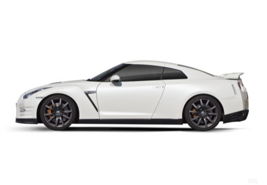 NISSAN GT-R II coupe boczny lewy