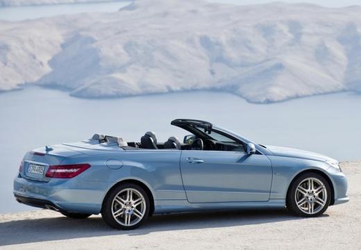 MERCEDES-BENZ Klasa E Cabrio A 207 I kabriolet niebieski jasny tylny prawy