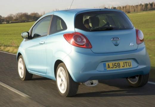 FORD Ka II hatchback niebieski jasny tylny lewy
