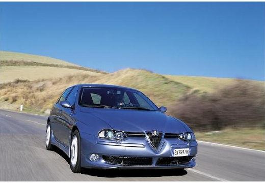 ALFA ROMEO 156 Sportwagon III kombi silver grey przedni prawy
