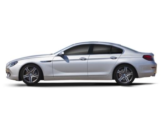 BMW Seria 6 Gran Coupe F06 I sedan silver grey boczny lewy