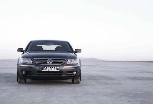 VOLKSWAGEN Phaeton sedan silver grey przedni