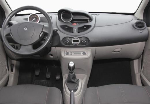 RENAULT Twingo IV hatchback niebieski jasny tablica rozdzielcza