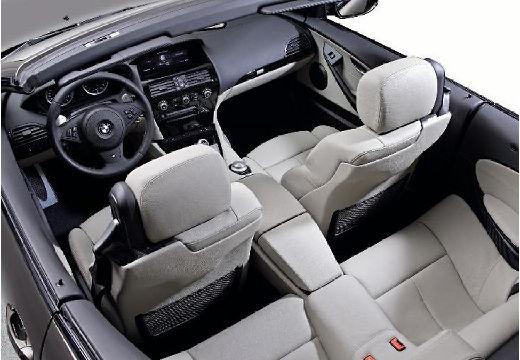 BMW Seria 6 Cabriolet E64 I kabriolet wnętrze