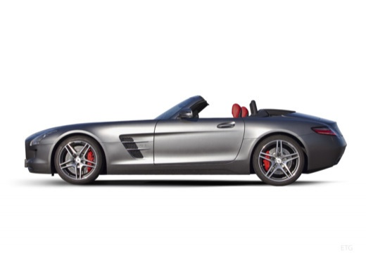 MERCEDES-BENZ SLS AMG roadster boczny lewy