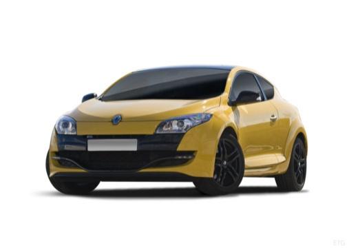 RENAULT Megane III Coupe I hatchback żółty przedni lewy