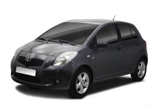 Toyota Yaris III hatchback przedni lewy