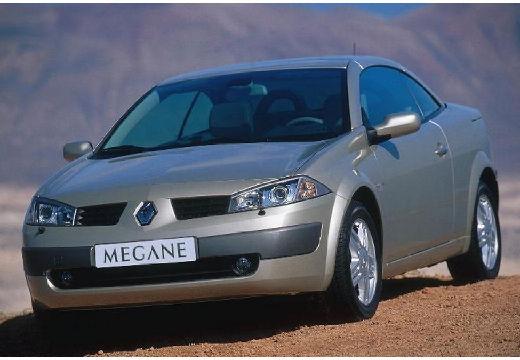 RENAULT Megane CC kabriolet silver grey przedni lewy