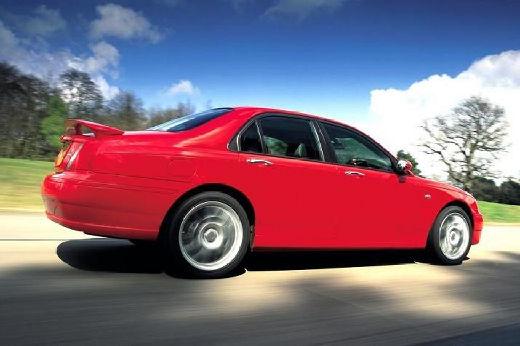 MG ZT sedan czerwony jasny tylny prawy