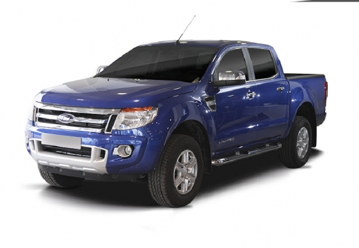 FORD Ranger pickup niebieski jasny