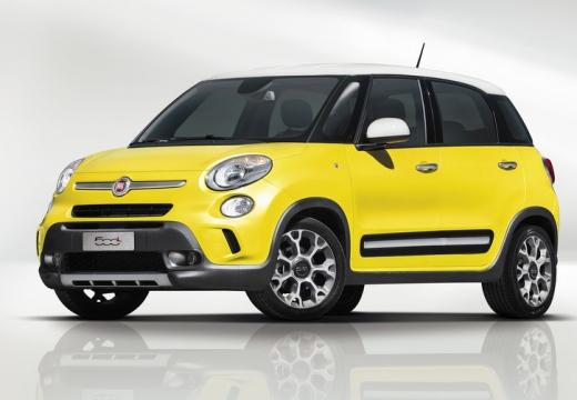 FIAT 500 L I hatchback żółty przedni lewy