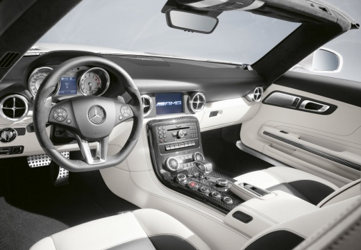 MERCEDES-BENZ SLS roadster tablica rozdzielcza