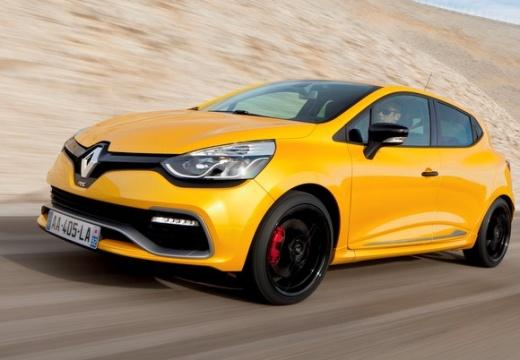 RENAULT Clio IV I hatchback żółty przedni lewy