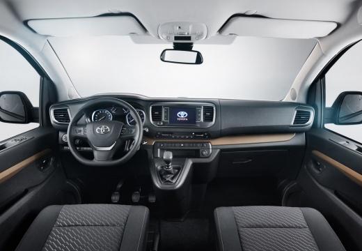 Toyota Proace Verso kombi mpv tablica rozdzielcza