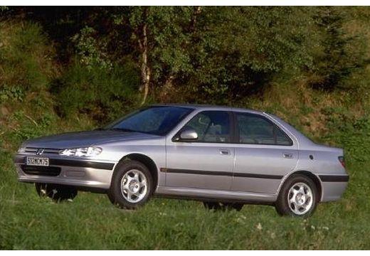 PEUGEOT 406 I sedan silver grey przedni lewy