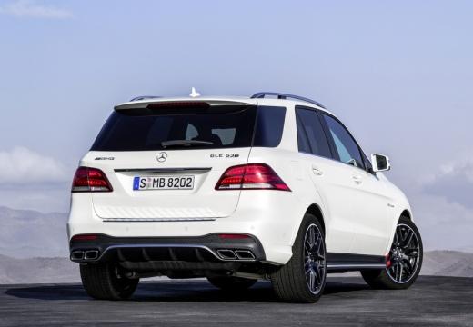 MERCEDES-BENZ Klasa GLE 292 hatchback biały tylny prawy
