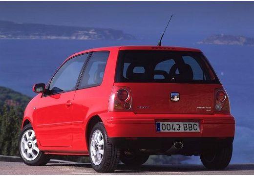 SEAT Arosa hatchback czerwony jasny tylny lewy