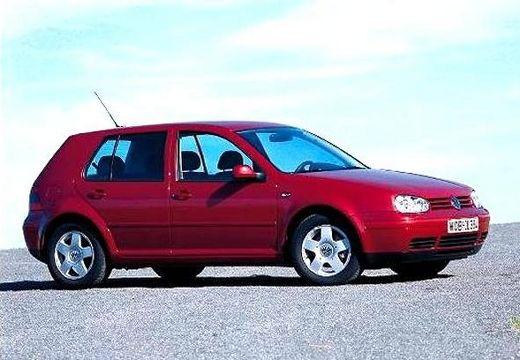VOLKSWAGEN Golf IV hatchback bordeaux (czerwony ciemny) przedni prawy