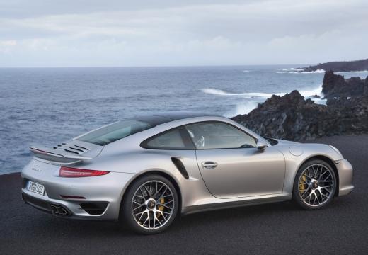 PORSCHE 911 991 I coupe silver grey tylny prawy