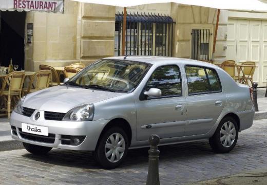RENAULT Thalia sedan silver grey przedni lewy