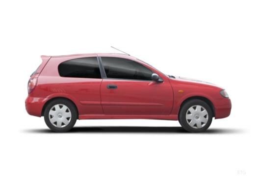 NISSAN Almera II II hatchback boczny prawy