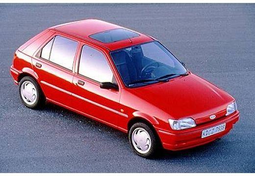 FORD Fiesta II hatchback czerwony jasny górny przedni