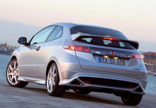 HONDA Civic VI hatchback silver grey tylny lewy