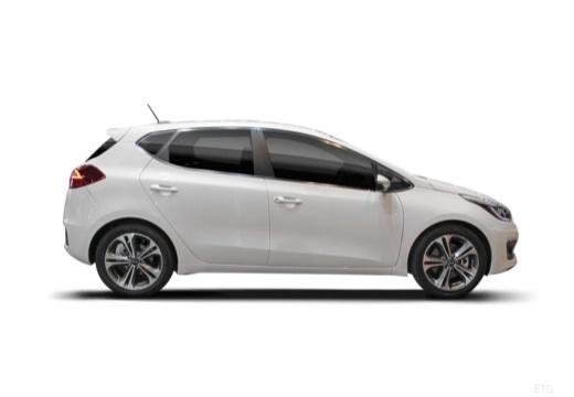 KIA Ceed IV hatchback boczny prawy