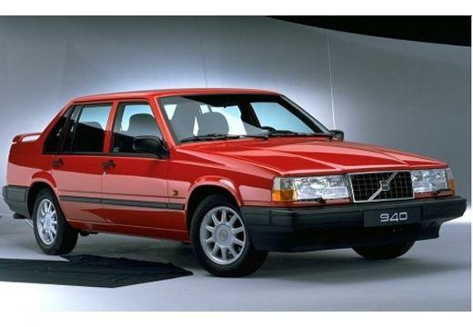 VOLVO 940 I sedan czerwony jasny przedni prawy